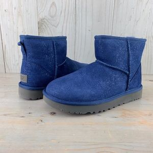 8ce6f967d03 Women Ugg Boots Sparkle Blue on Poshmark